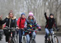 Двести волгоградцев бросили вызов себе, приняв участие в Зимнем велопараде