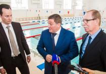 В новом ультрасовременном бассейне медакадемии будут готовить юных пловцов