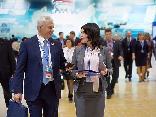 Делегация отДагестана приняла участие вXVI съезде партии «Единая Россия»