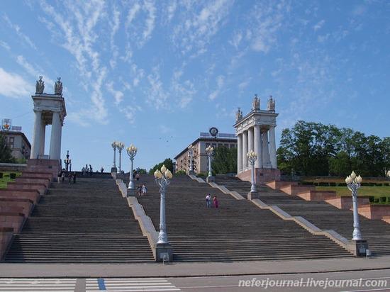 На реконструкцию Центральной набережной в Волгограде выделили 332 миллиона рублей