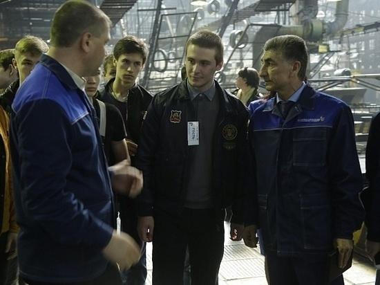 Волгоградских школьников зовут на завод со школьной скамьи