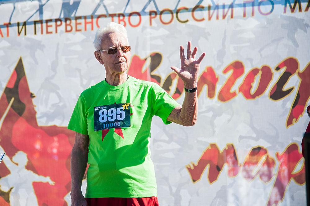 Волгоградский марафон пробегут 550 участников