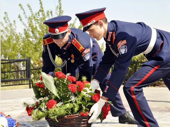 В Волгограде на Лысой горе состоялся слет казачьей молодежи