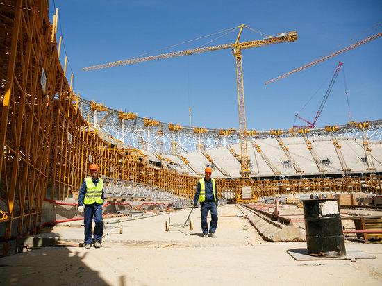 На стадионе «Волгоград Арена» готовятся к установке вантовой кровли