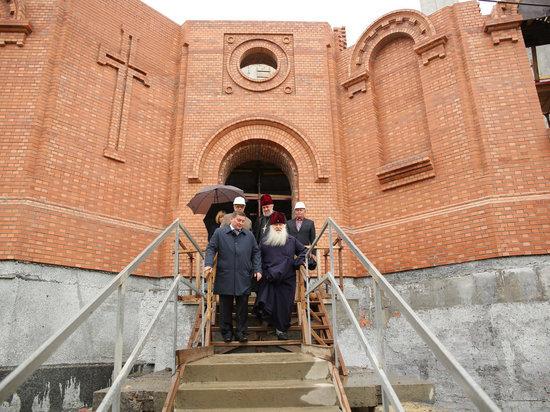 Александро-Невский собор в Волгограде вырос на 7 метров