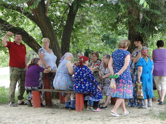 В разгар лета жители села Привольное остались без воды