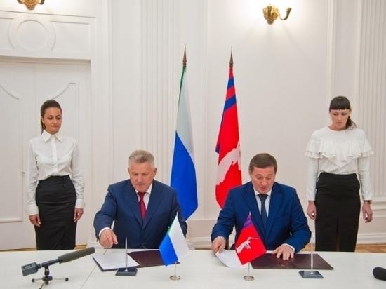 Волгоградская область иХабаровский край подписали соглашение осотрудничестве