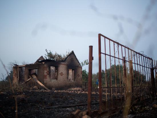 Волонтеры помогают пострадавшим от пожаров привести в порядок дома