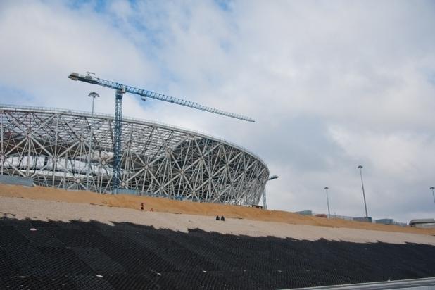 """Уполномоченный FIFA: «Нет сомнений, что """"Ростов-Арена"""" будет сдана внамеченный срок»"""