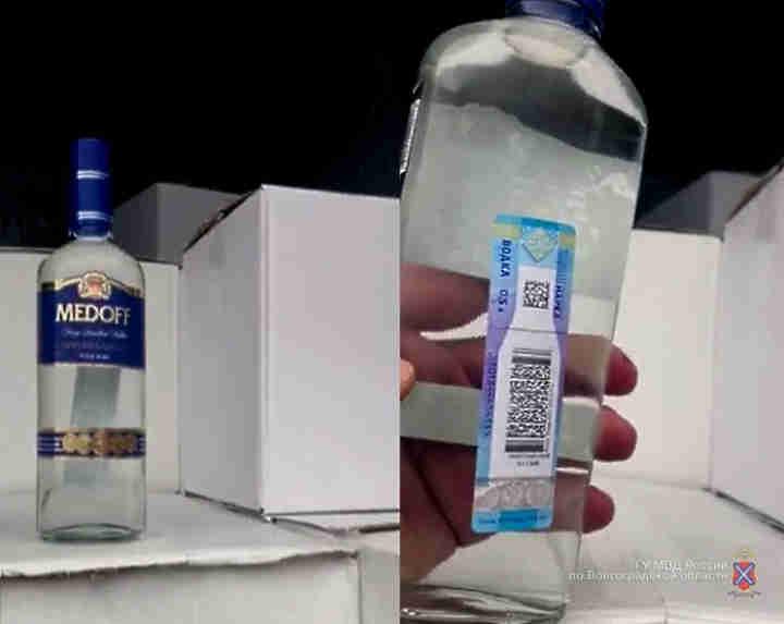3600 бутылок паленого алкоголя пытались провезти в Волгоград