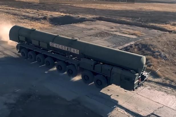 Волгоградец снял навидео запуск «Тополя-М»