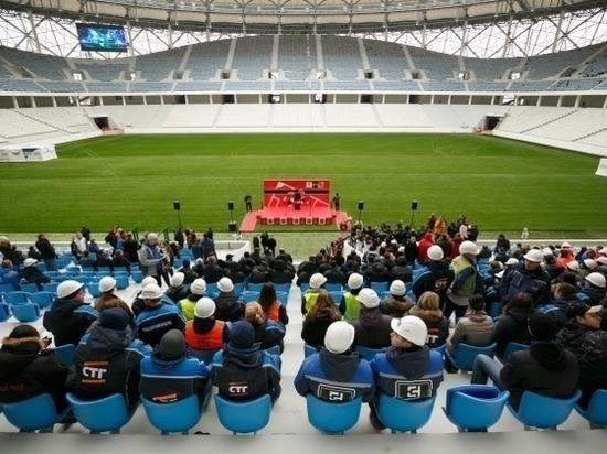 Первая игра на«Волгоград Арене» состоится уже 21апреля