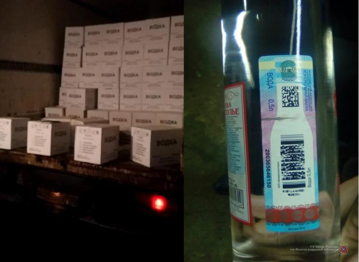 ВВолгоградской области изъяли 11,6 тыс бутылок контрафактного алкоголя