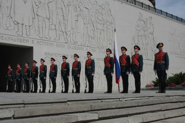 Рота Почетного караула Волгограда разменяет «полтинник»