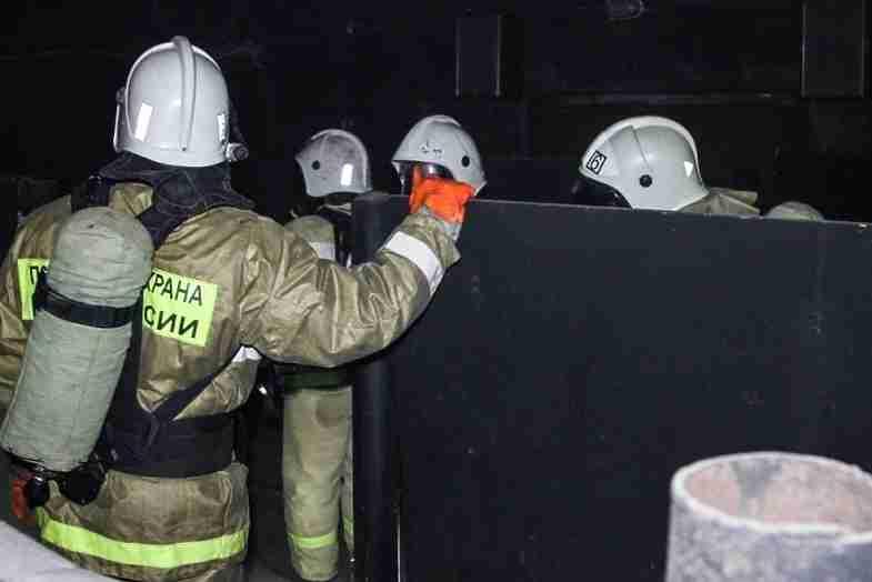Насевере Волгограда пожарные эвакуировали 10 человек издевятиэтажки