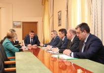Андрей Бочаров обсудил социально-экономическое сотрудничество региона и «Еврoхима»