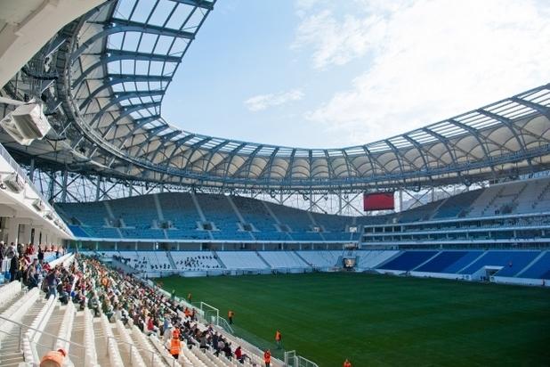 Волгоградцев ожидает бесплатный вход нафинал Кубка Российской Федерации пофутболу