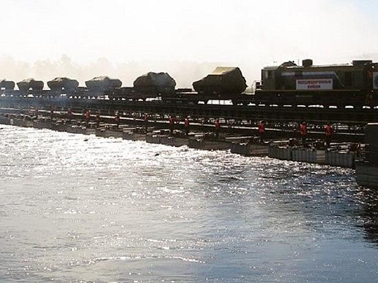 Военные готовятся кмассовому восстановлению разрушенных мостов вВолгоградской области