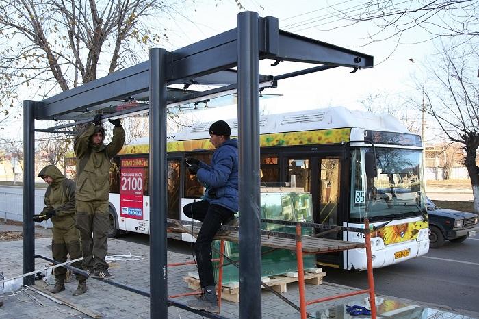 ВВолгограде остановки транспорта снабдят видеокамерами