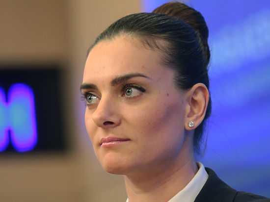 Елена Исинбаева выдвинута напост руководителя ВФЛА