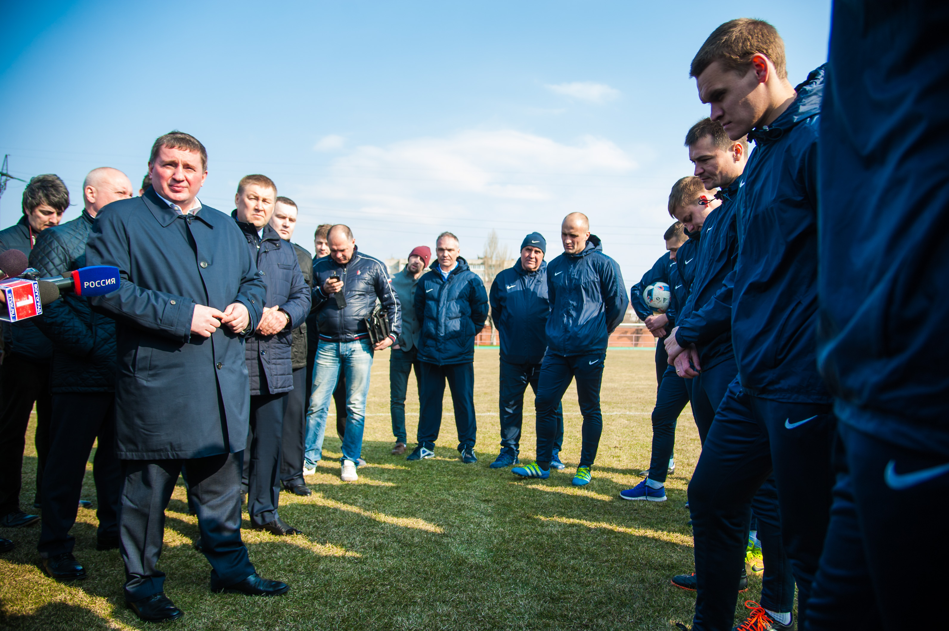 """Андрей Бочаров: «""""Ротор-Волгоград"""" должен стать командой мечты для тыс. мальчишек»"""