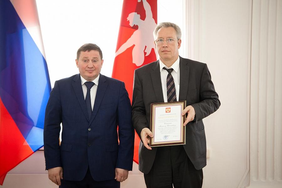 Губернатор Андрей Бочаров вручил волгоградцам госнаграды