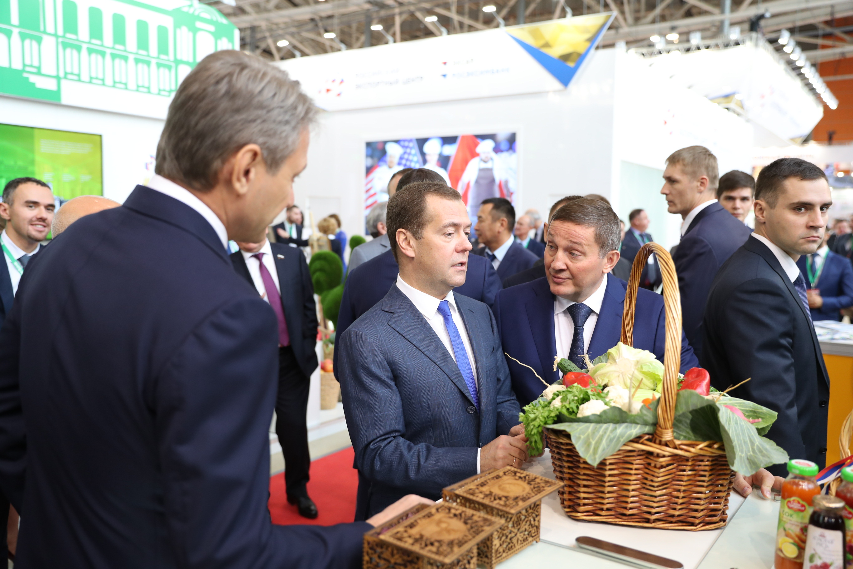 Андрей Бочаров оповестил Владимиру Путину оподготовке Волгограда кЧМ
