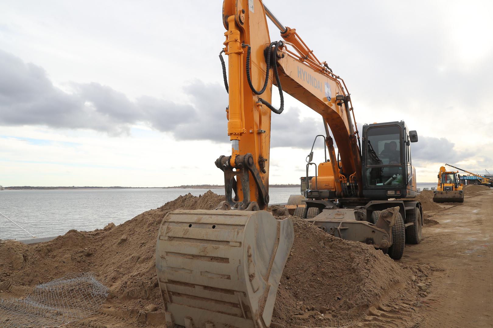 НаЦентральной набережной начался очередной этап работ— реконструкция эстакады