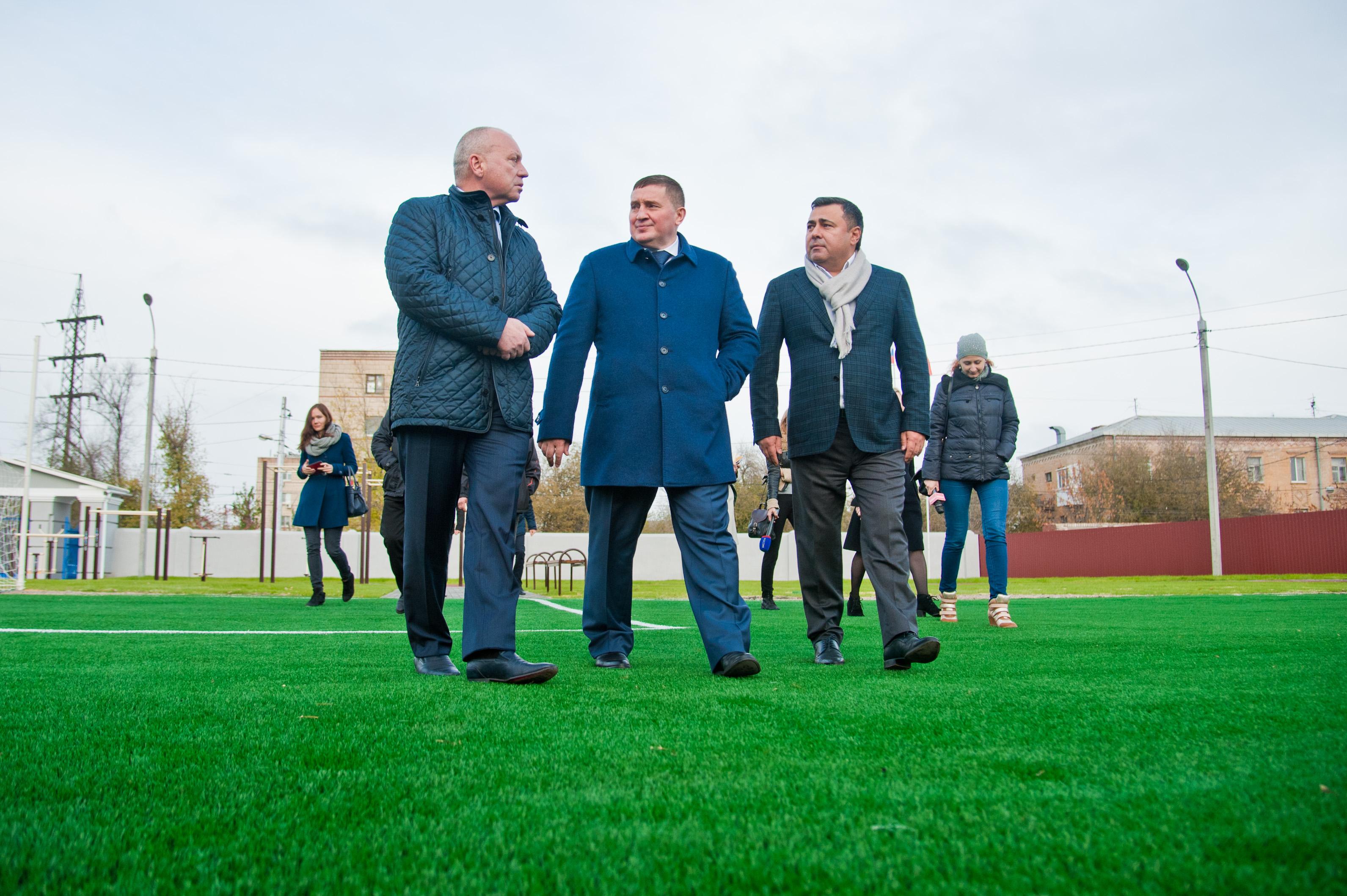 ВВорошиловском районе возрождается стадион «Пищевик»
