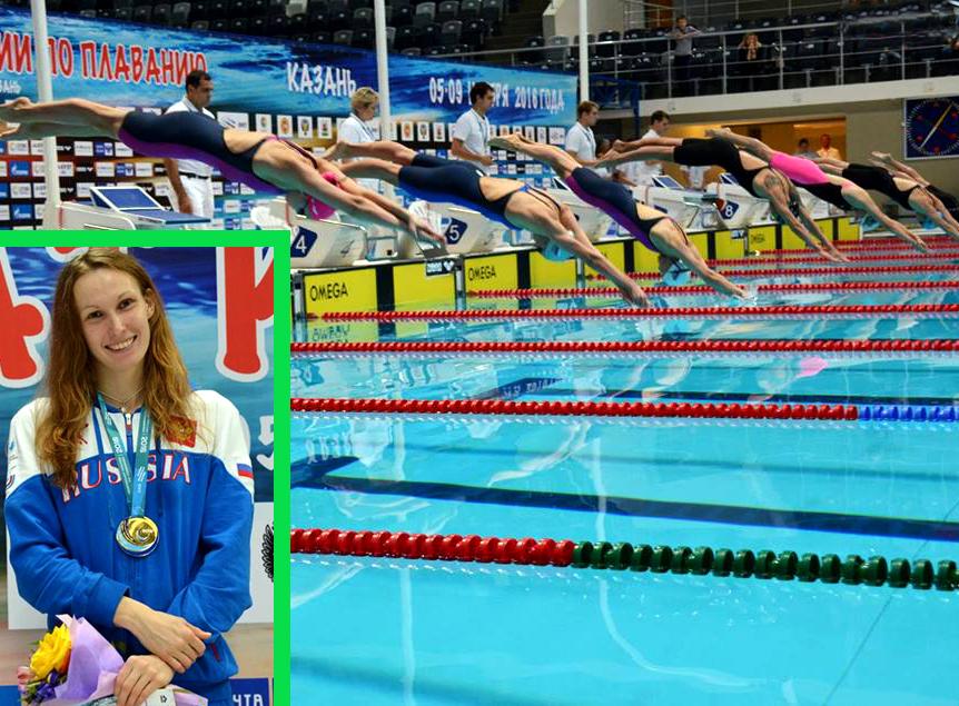 Дарья Цветкова— 2-кратный призер чемпионата Российской Федерации накороткой воде