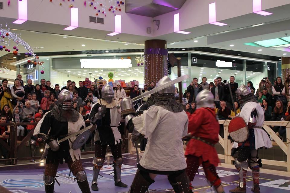 Большой рыцарский турнир прошел вВолгограде