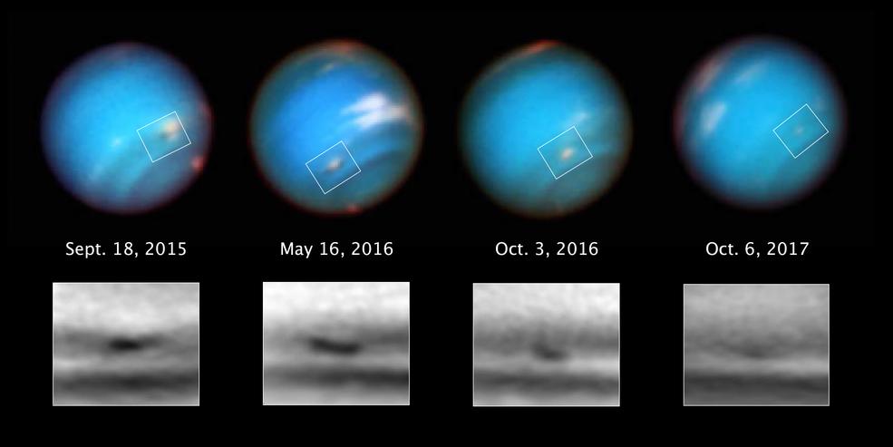 Ученые узнали удивительный факт ошторме наНептуне
