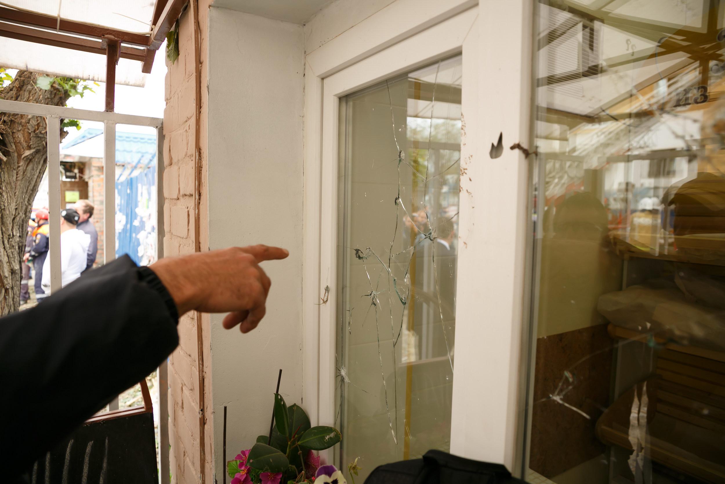 Граждан взорвавшегося дома временно разместят вближайшей школе