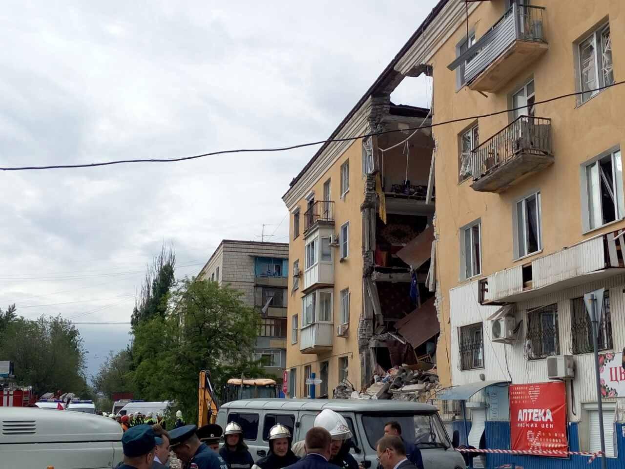 ВВолгограде из-под завалов жилого дома извлекли четвёртое тело