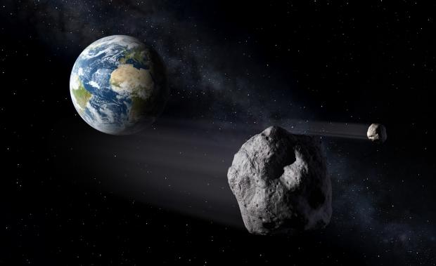 В апреле над Землёй пролетит астероид размером с высотку МГУ