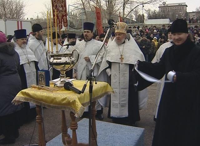 Насевере ивцентре Волгограда перекроют улицы навремя Крестного хода