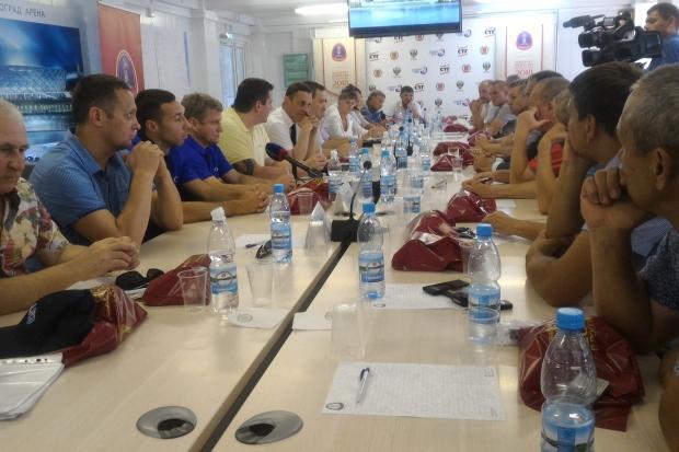 ВВолгограде обсудили судьбу детского футбола
