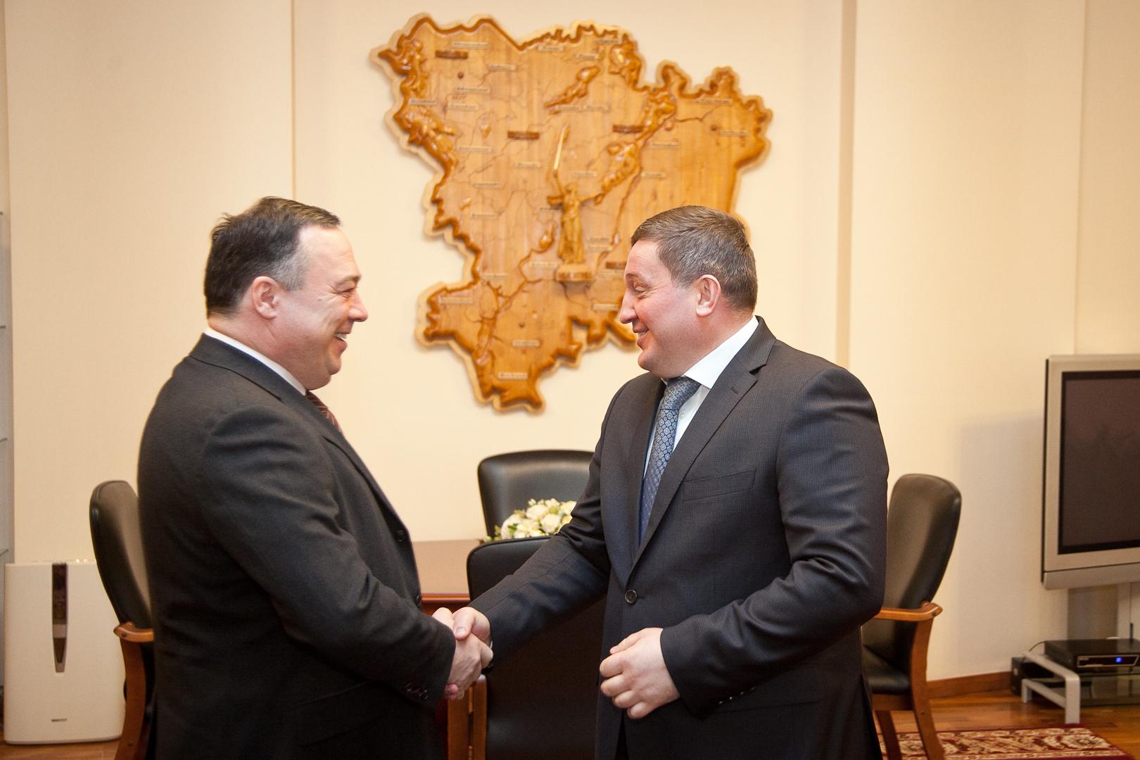 Губернатор пообещал ВГТЗ последующее участие воборонной программе