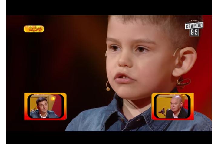 Шестилетний ребенок  изВолгоградской области одержал победу  50 тыс.  грн  в«Рассмеши комика»
