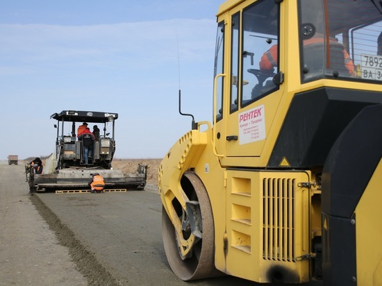 Старовойт иБочаров открыли улучшенный участок дороги Р-22 «Каспий»
