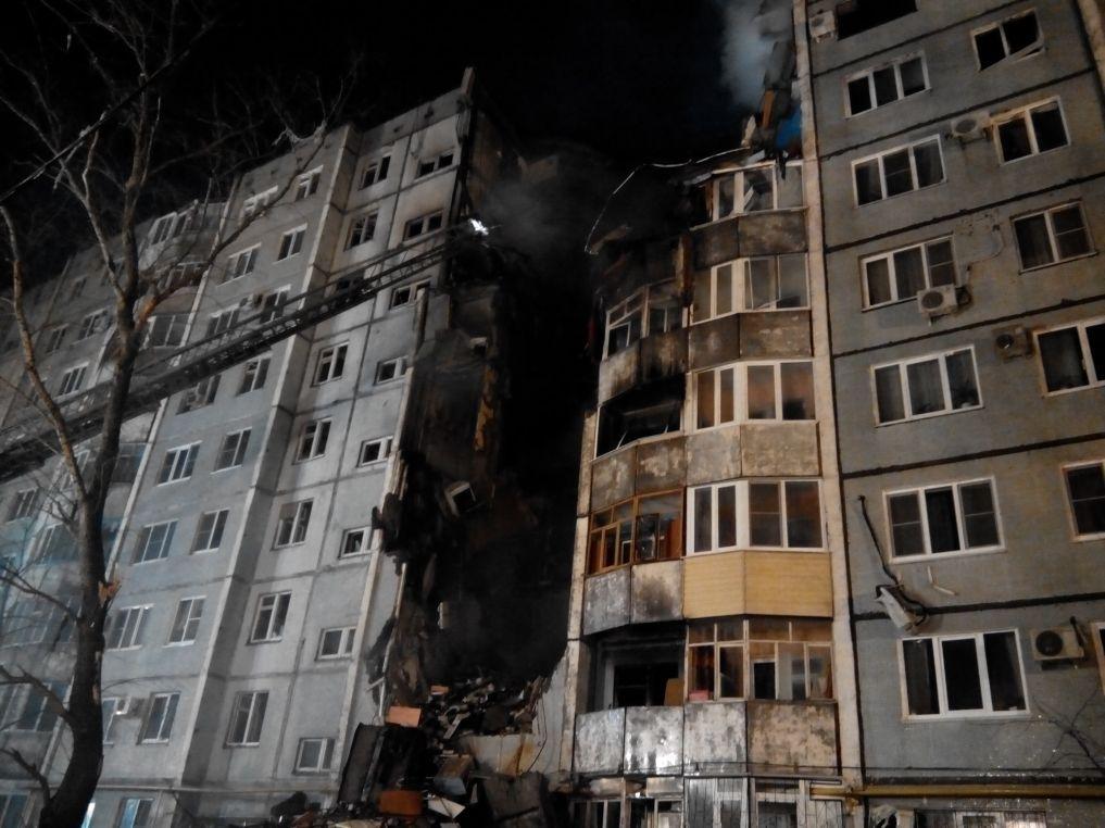 ВВолгограде случилось обрушение жилого дома