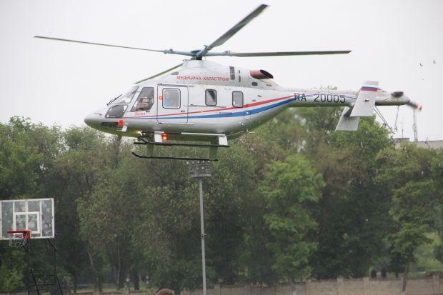 Вертолет санавиации доставит изБыково вВолгоград ребенка сотравлением