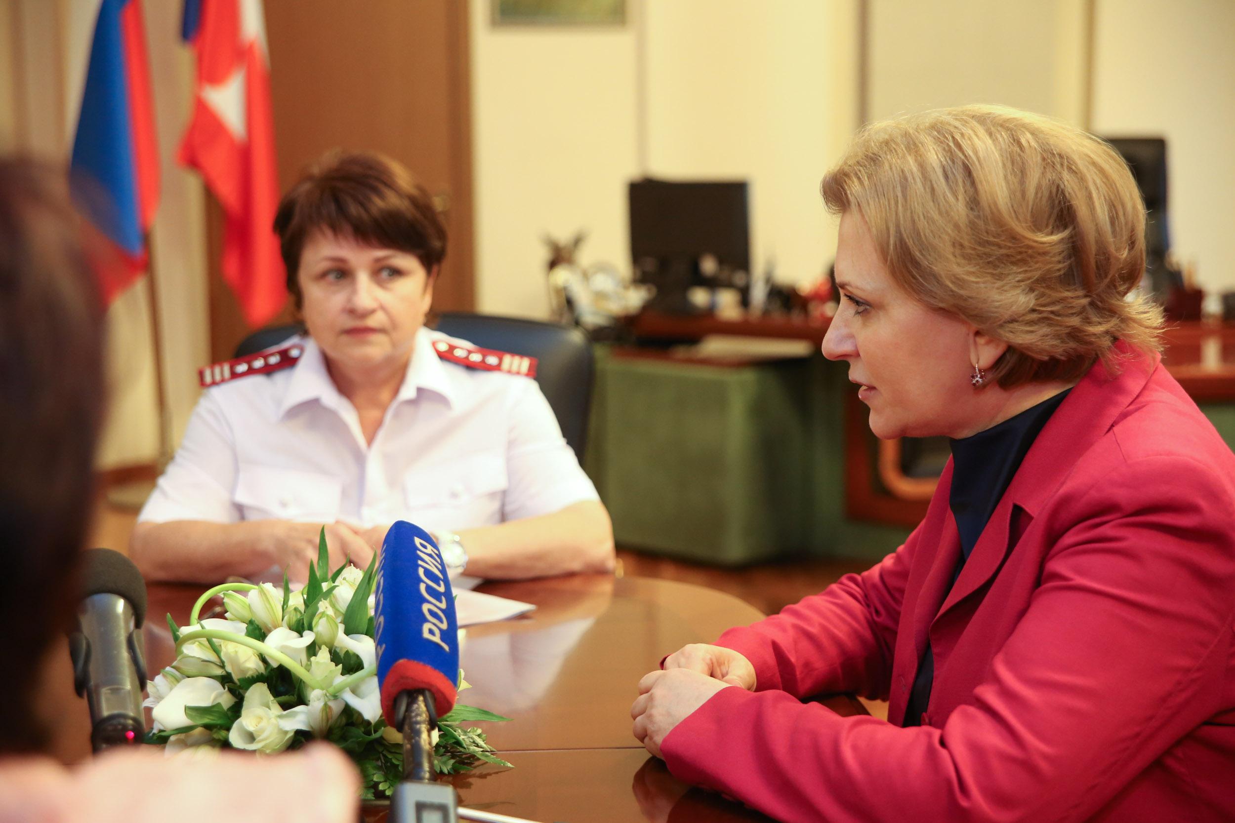 Главный санитарный доктор Российской Федерации прибыла срабочим визитом вВолгоград