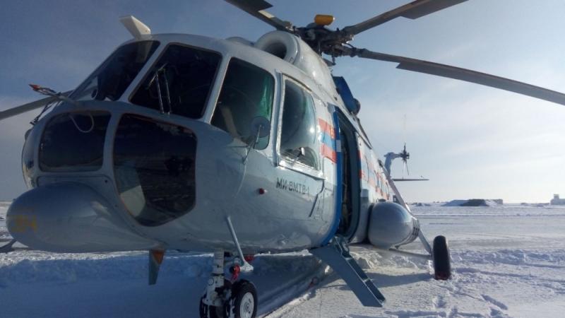 Вертолет МЧС прибыл в Волгоград для реагирования в случае возникновения ЧС