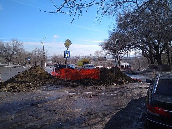 ВКраснооктябрьском районе «девятка» съехала спроспекта полестнице