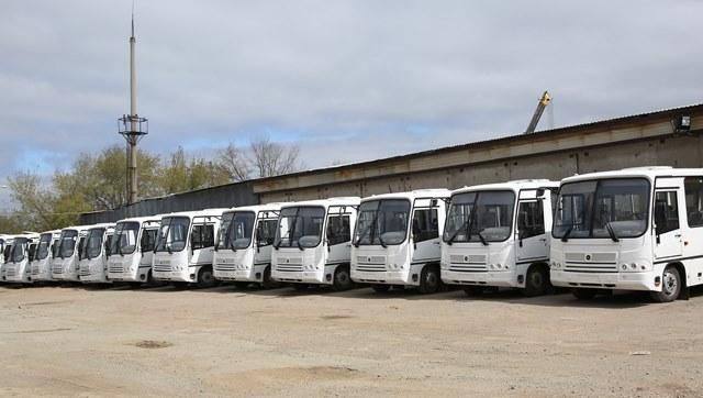ВВолгограде намаршрут №59 выходят новые автобусы средней вместимости