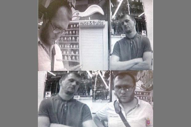 Волгоградцев просят посодействовать  впоисках преступников  банкомата