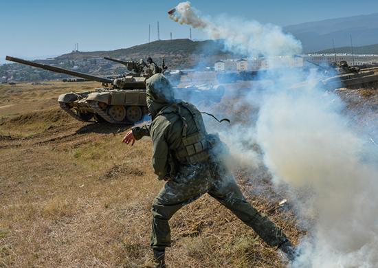 Военные под Волгоградом освободили поселок отусловного противника