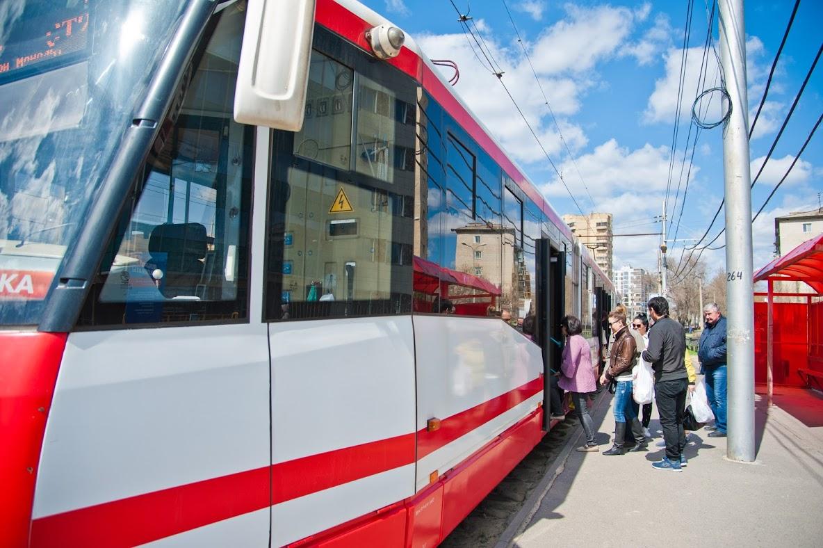ВВолгоград поступило три трамвайных вагона из столицы