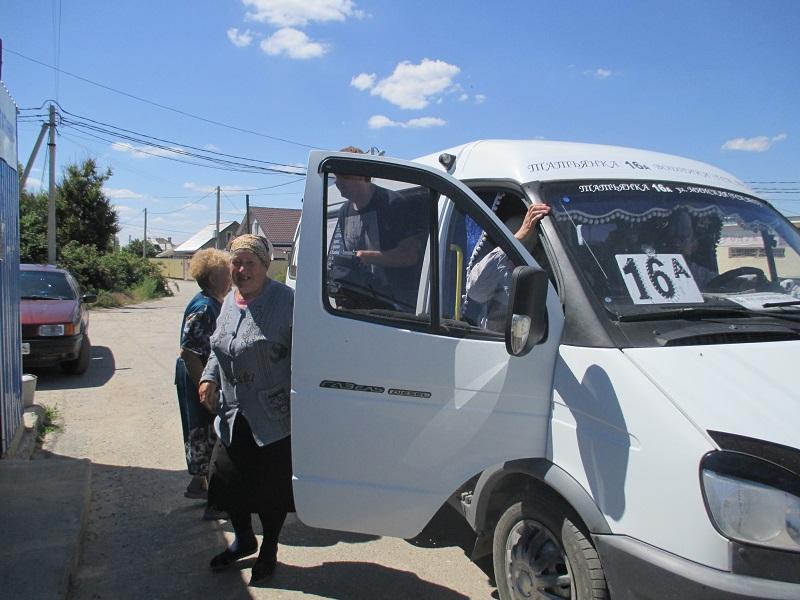 ВВолгограде маршрутка №16а начала обслуживать граждан поселка Татьянка -1